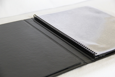Menu Covers with Clear Pockets