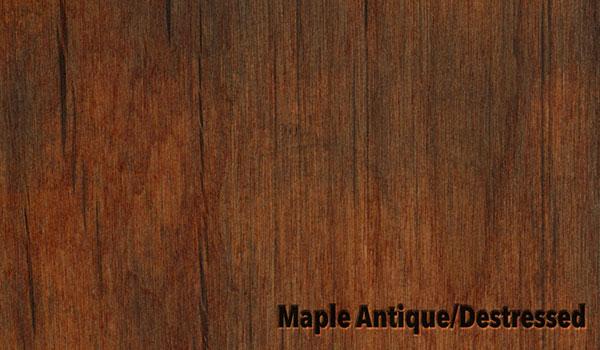 Maple Antique/Destressed